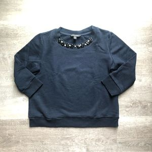 Banana Republic 3/4 sleeves sweatshirt size M